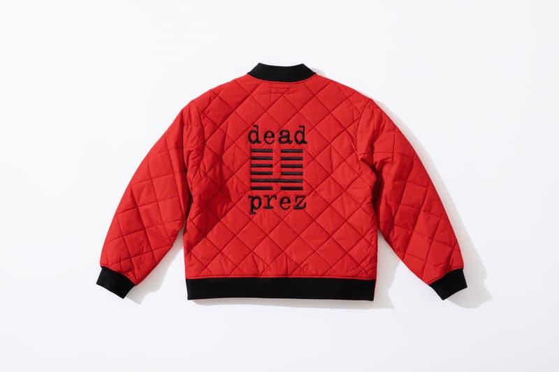 Supreme 攜手嘻哈組合 Dead Prez 發佈聯乘服裝系列