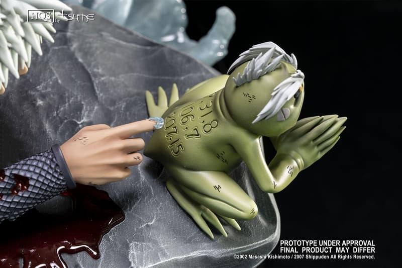 火之意志 − Tsume-Art 推出 Naruto「自來也 Vs. 培因六道」臨死場景雕像