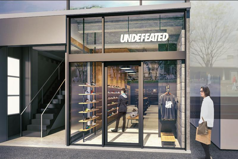 密集擴張 - UNDEFEATED 將在日本大阪地區開設全新店鋪