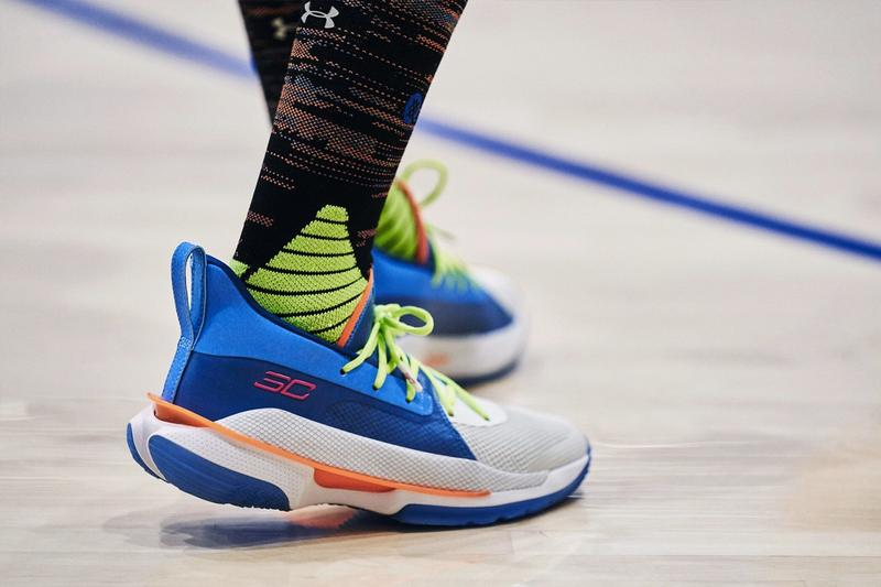 Under Armour Curry 7 全新配色「NERF Super Soaker」正式登場