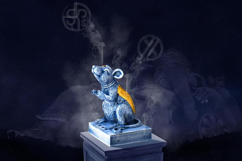 YEENJOY 攜手 SKP-S 推出鼠年別注陶瓷香爐