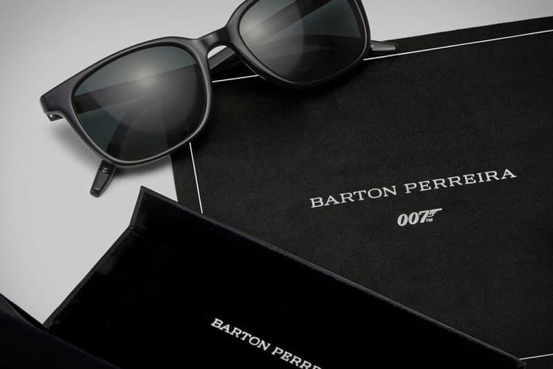 James Bond 專屬-Barton Perreira 推出《007: No Time To Die》別注眼鏡