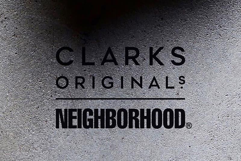 NEIGHBORHOOD 預告將會與 Clarks 帶來全新合作企劃
