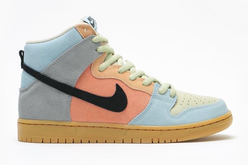 Nike SB Dunk High Pro 迎來鴛鴦配色「Easter Spectrum」