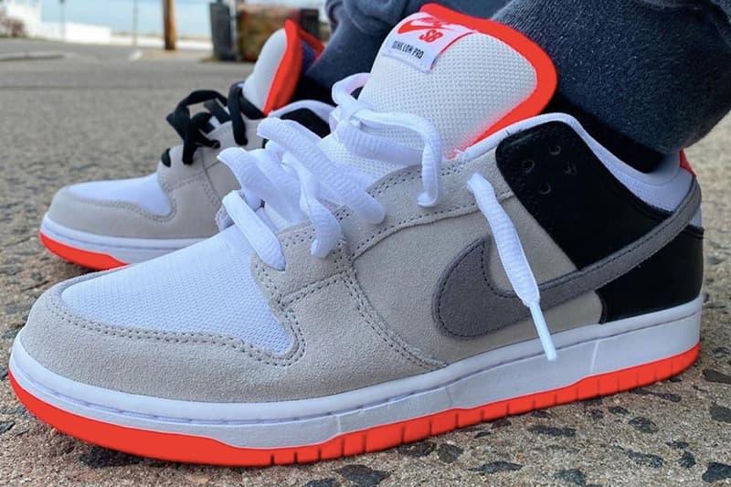 強勢鞋款 Nike SB Dunk Low 推出全新「Infrared」配色