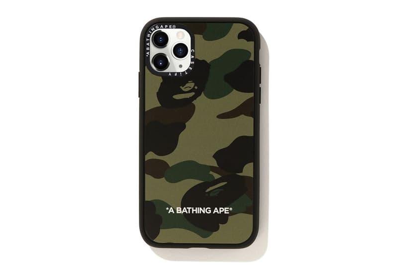 重磅加持-A BATHING APE® x CASETiFY 聯乘手機保護殼