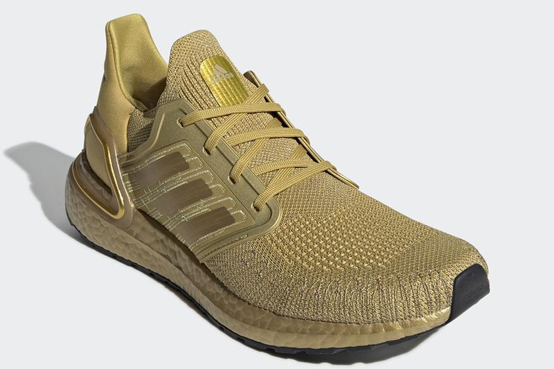 奧運最強-adidas UltraBOOST 20 全金配色「Metallic Gold」發佈