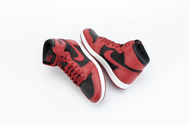 率先近賞 Air Jordan 1 Hi '85 經典配色「Varsity Red」高清圖輯