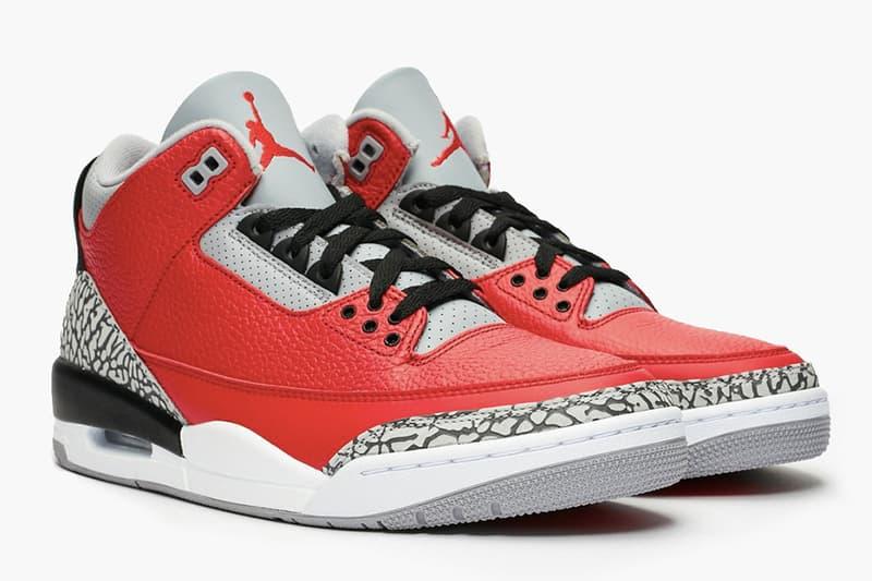 灼熱火紅-Air Jordan 3 推出全新「Fire Red」配色