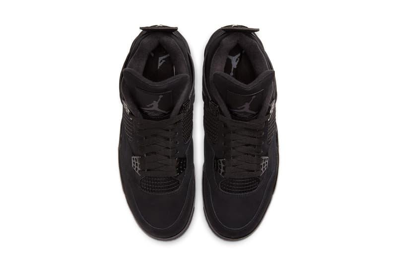 提前登場 − Air Jordan 4「Black Cat」2020 復刻鞋款即將發售