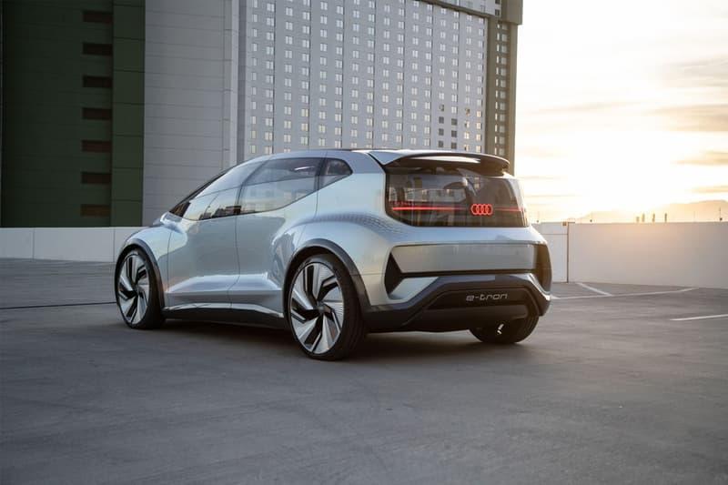 CES 2020 − Audi 推出全新未來自動駕駛車型「AI:ME」