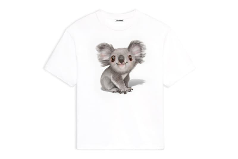 收益全數捐贈!Balenciaga 推出別注 Hoodie 和 T-Shirt 援助澳洲火災