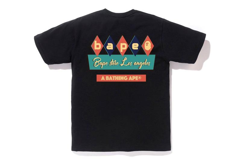 A BATHING APE®️ 推出全新城市限定 T-Shirt 系列