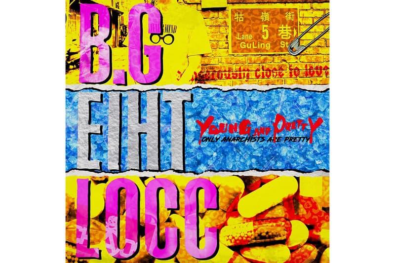 台灣饒舌歌手 BG8LOCC 全新《Young And Pretty》Mixtape 正式完整公開