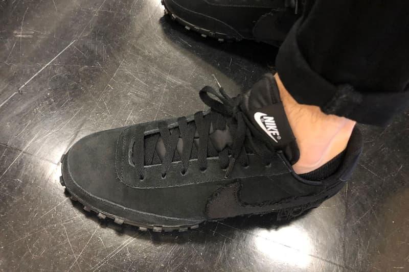 BLACK COMME des GARÇONS x Nike Waffle Racer 2 最新聯名鞋款率先曝光