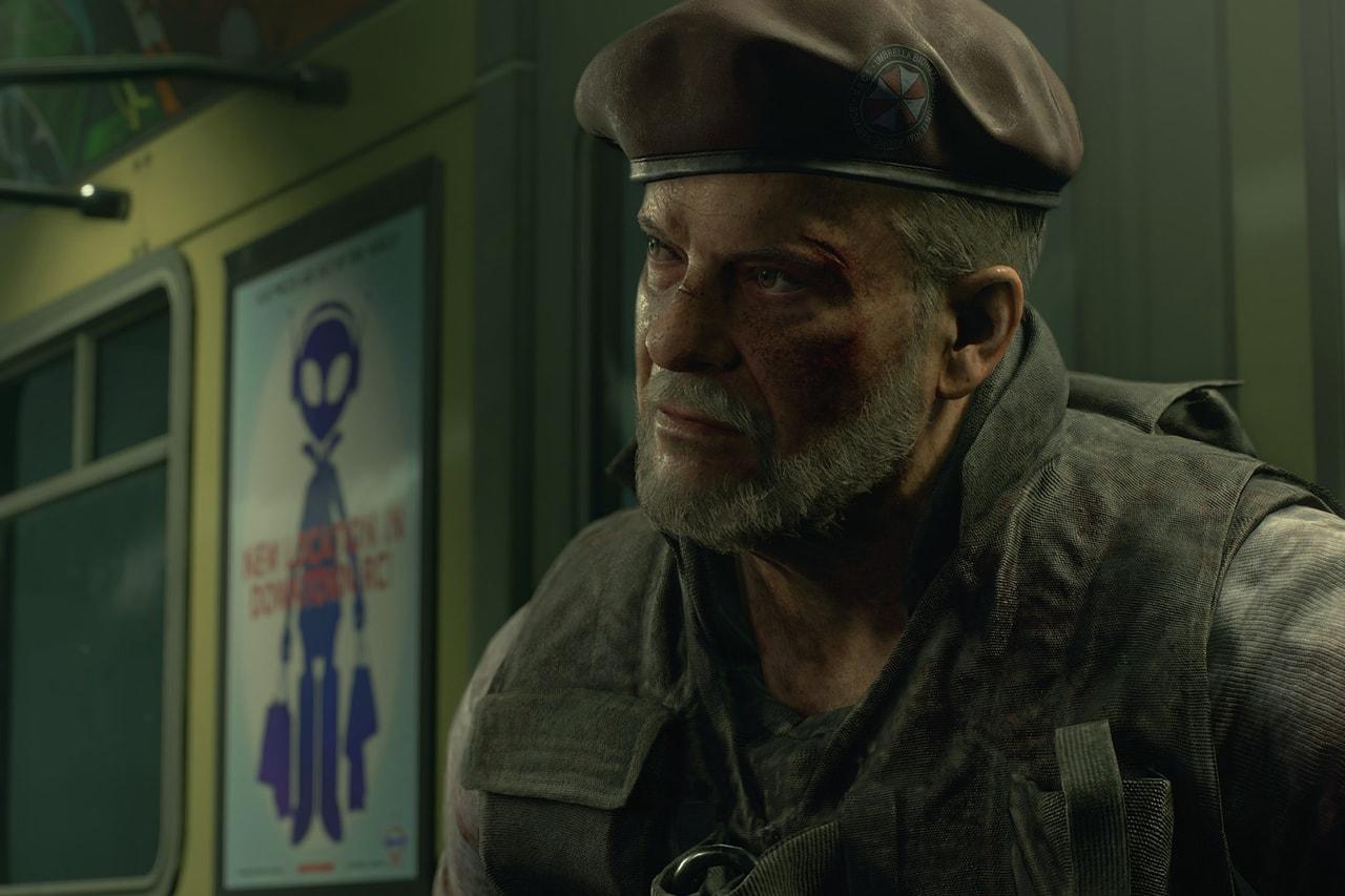 《Resident Evil 3》重製版釋出經典反派「Nemesis」全新預告