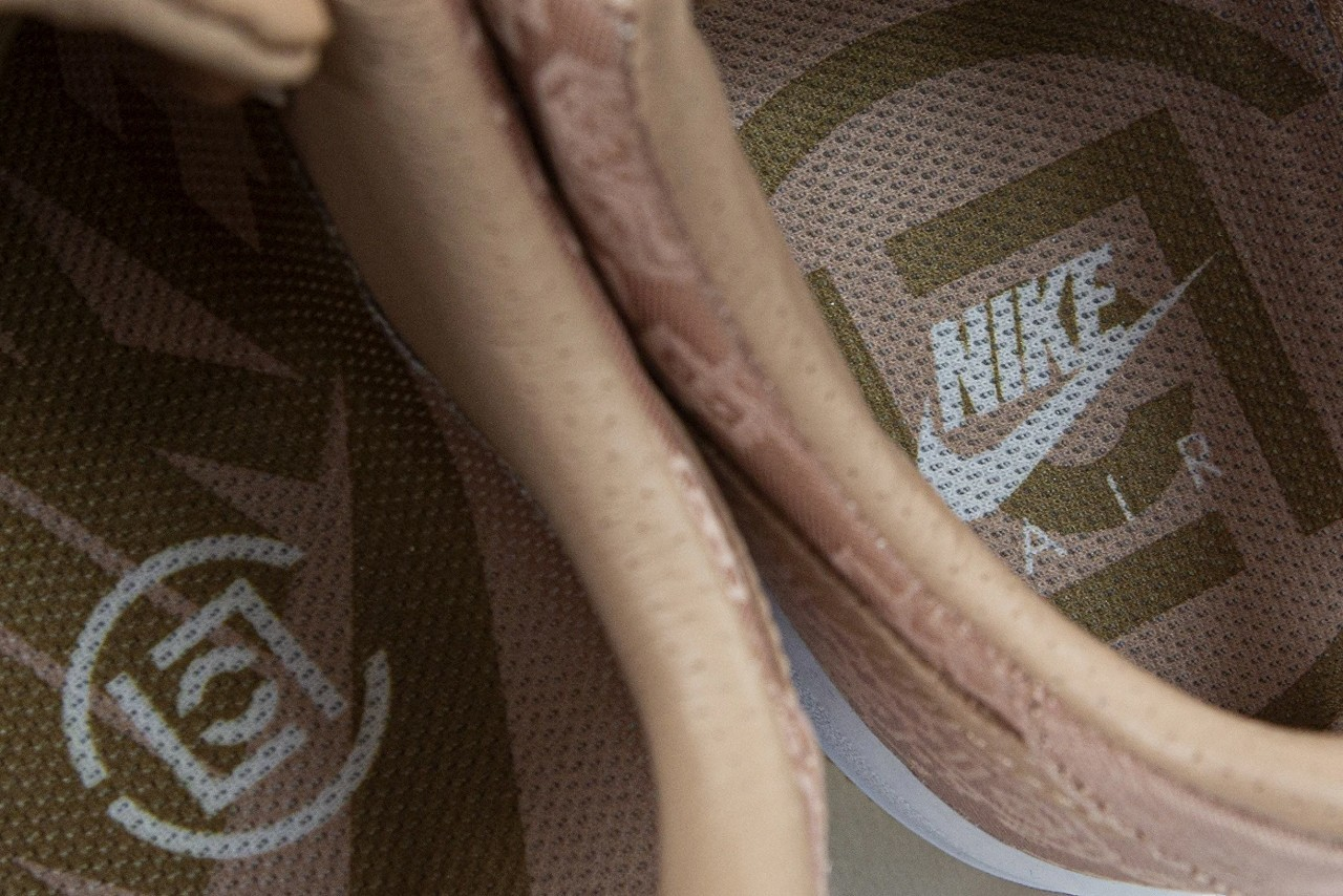 CLOT x Nike Air Force 1「Rose Gold Silk」鞋款官方發佈