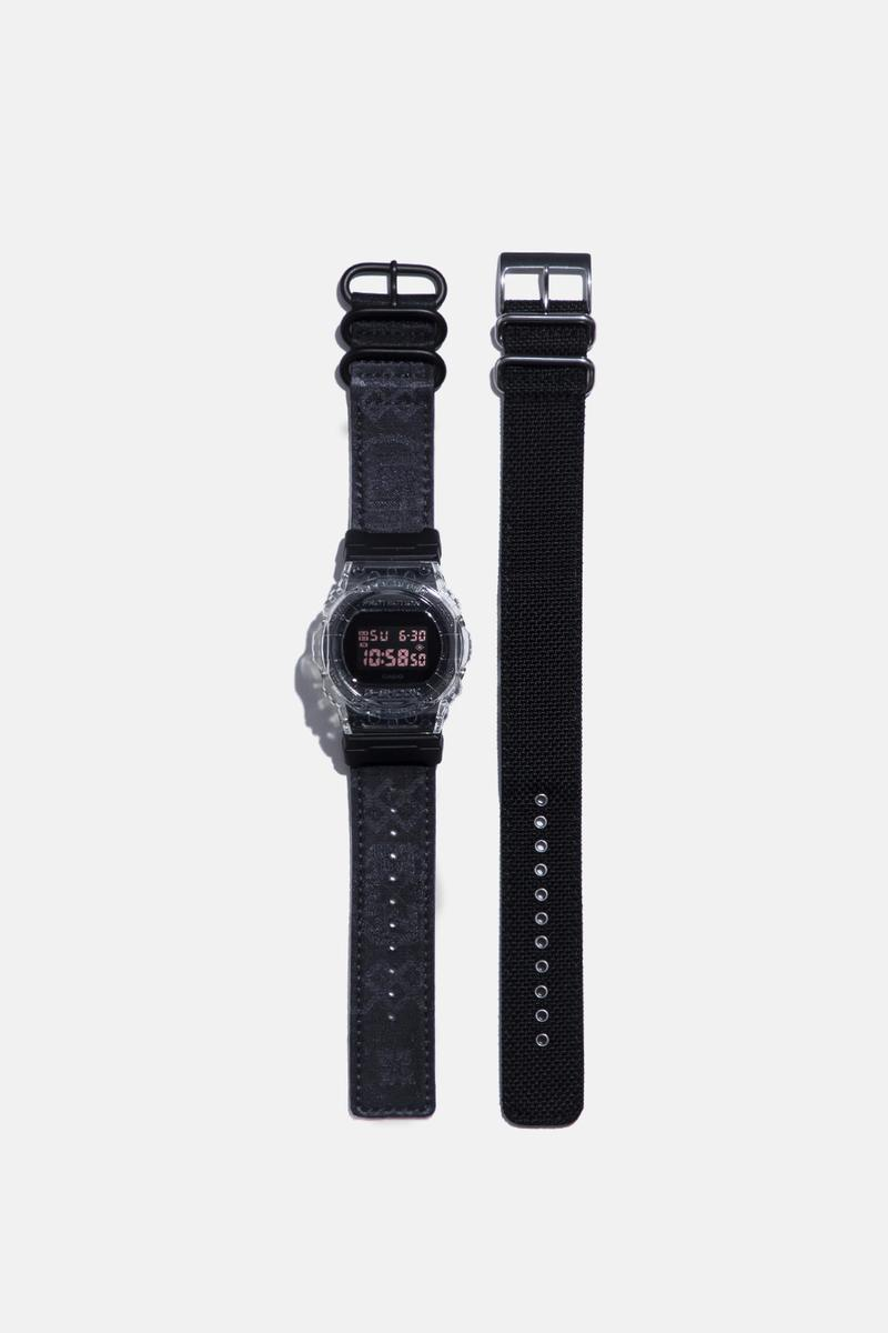 絲綢之路-CLOT x CASIO 聯乘 G-SHOCK DW-5750 限量腕錶