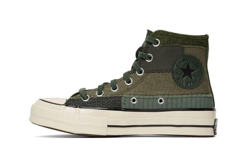 Converse 推出兩款全新拼布工藝 Chuck 70 鞋款