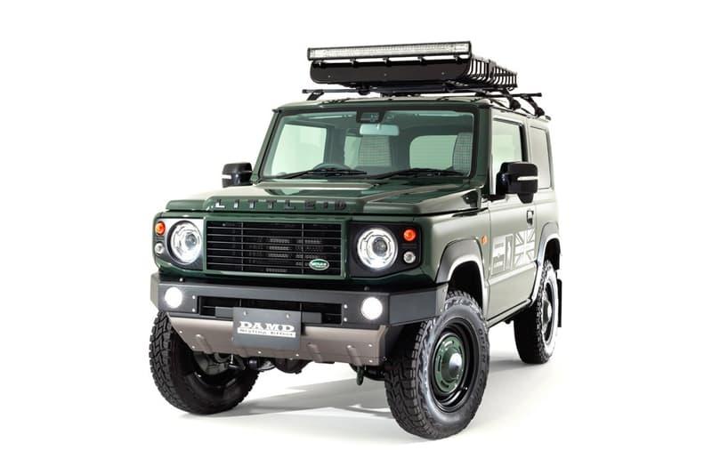 日本改裝廠推出進化 Land Rover Defender 之 Suzuki Jimny 改裝套件