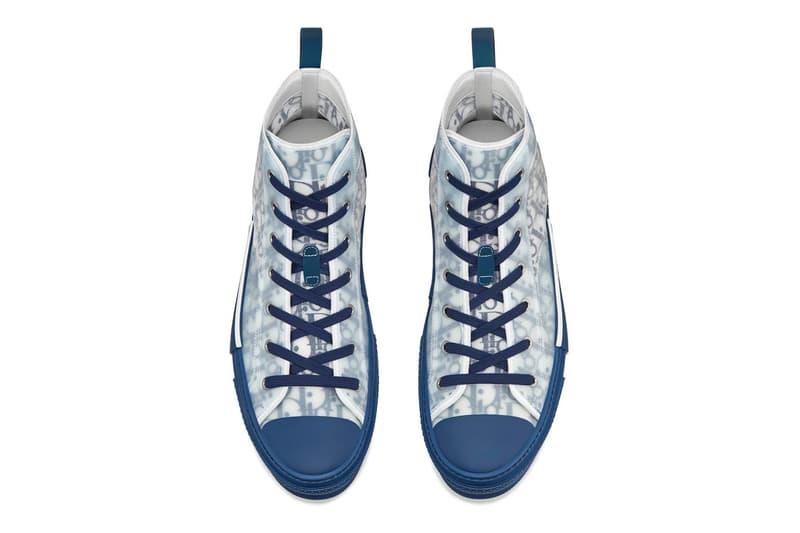 Dior B23 高筒運動鞋全新配色「Bleu」上架