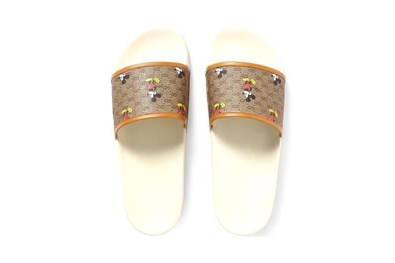 Gucci x Disney 最新聯乘 Mickey Mouse 主題鞋款系列發佈