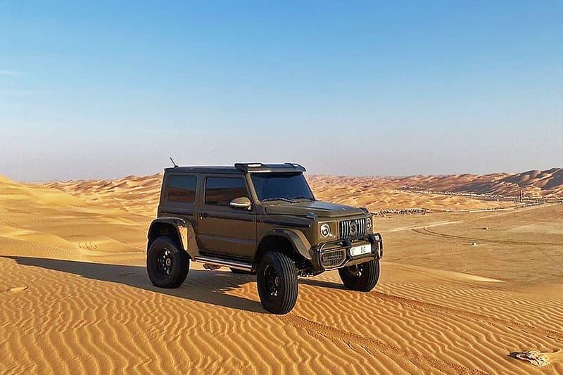 無限潛力-杜拜改車單位打造「G63 4x4」版本 Suzuki Jimny Sierra