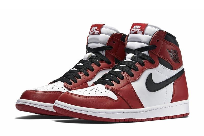 傳聞 Air Jordan 1 將會推出以 Chicago 色為基礎的「Bloodline 2.0」