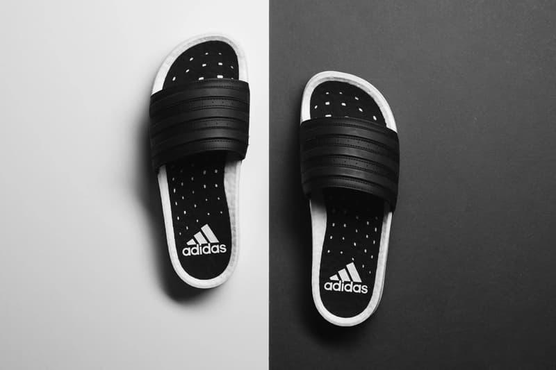 adidas 將 BOOST 技術移植到經典 adilette 拖鞋上