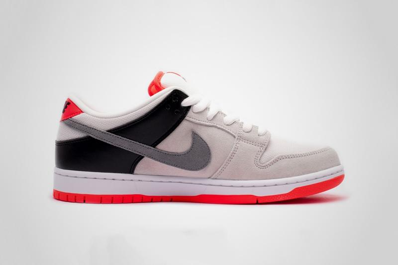 Nike SB Dunk Low Pro 移植經典 Air Max 90 配色「Infrared」