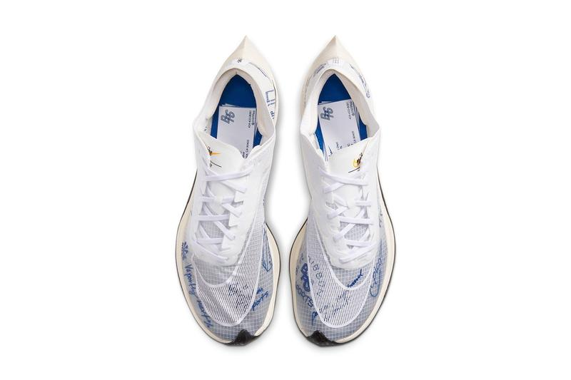 Nike ZoomX Vaporfly NEXT% 推出全新「Blue Ribbon Sports」手繪圖案主題配色