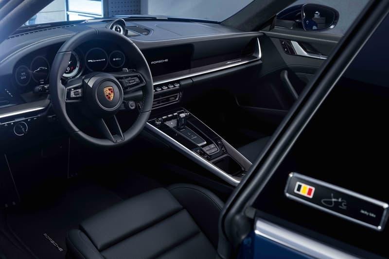 Porsche 推出首款 992 別注版車型「Belgian Legend」