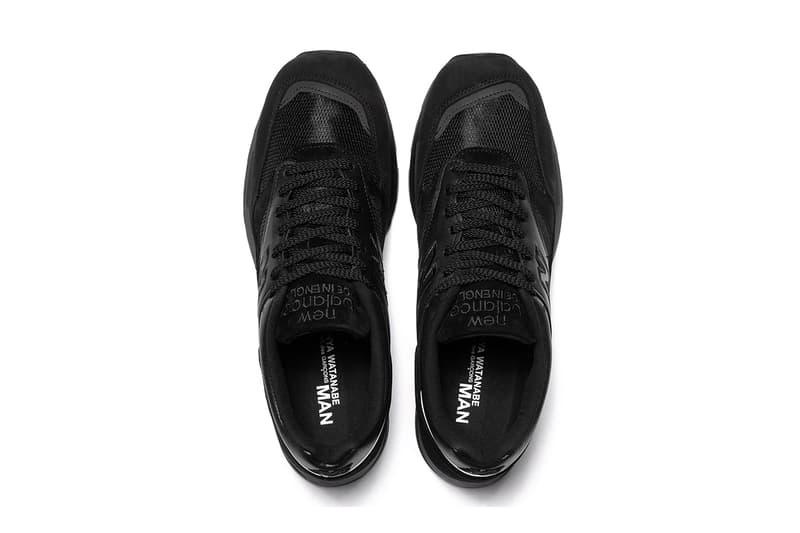 Junya Watanabe MAN x New Balance M1500 全新聯乘系列鞋款發佈