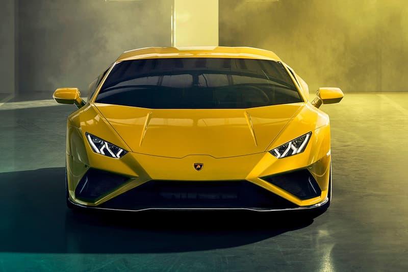 Lamborghini 推出全新入門級超跑 Huracán EVO RWD