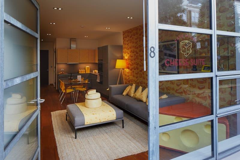 Say Cheese!全新起司主題酒店正式於倫敦啟動