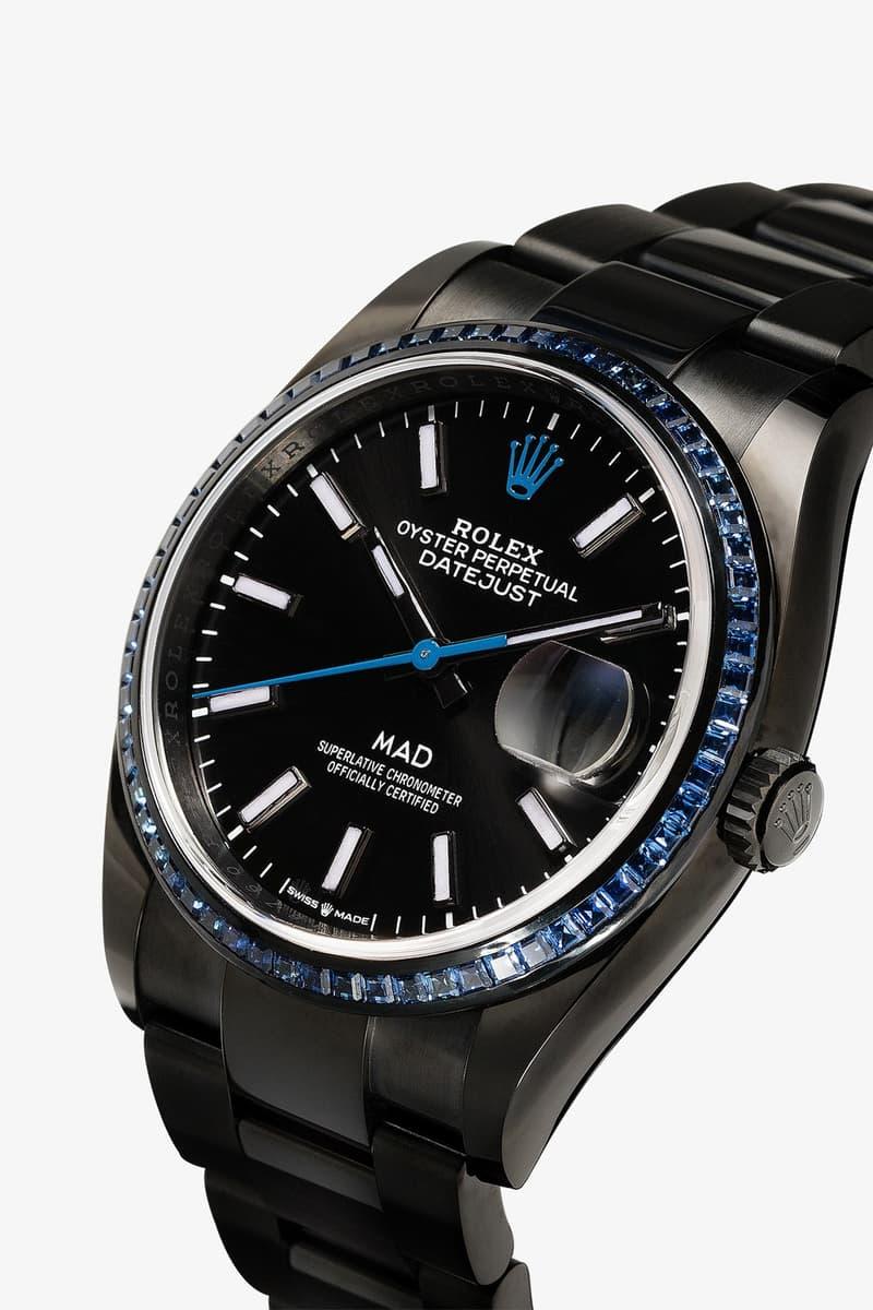 Mad Paris 打造 Rolex Datejust 36 藍寶石定製腕錶