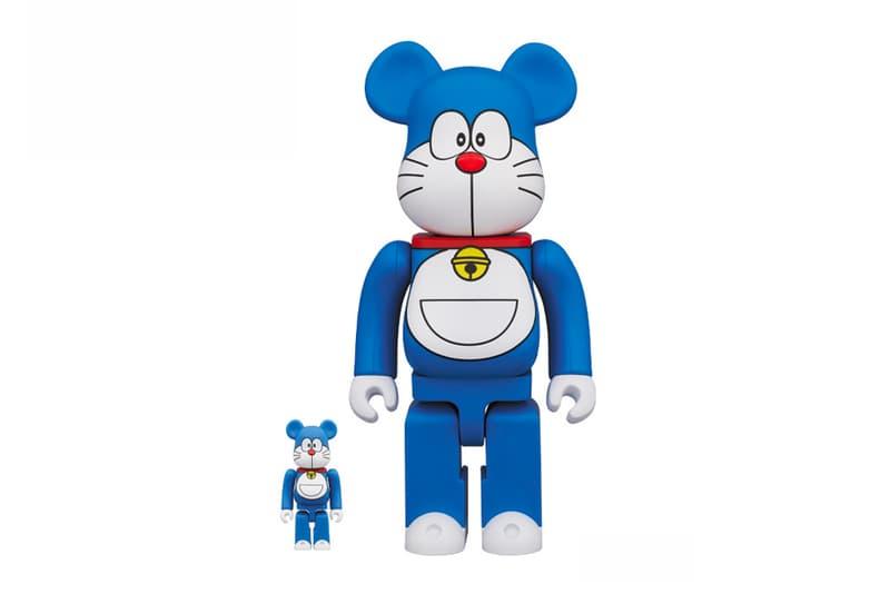 Medicom Toy 推出 Doraemon 50 周年別注 BE@RBRICK 玩偶模型