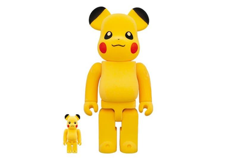 Medicom Toy x Pokémon 聯手打造別注 Pikachu BE@RBRICK 玩偶模型