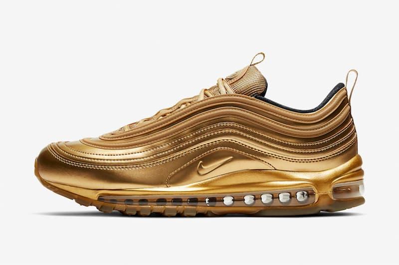 高調之金 − Nike Air Max 97 最新奧運主題配色「Gold Metal」發佈