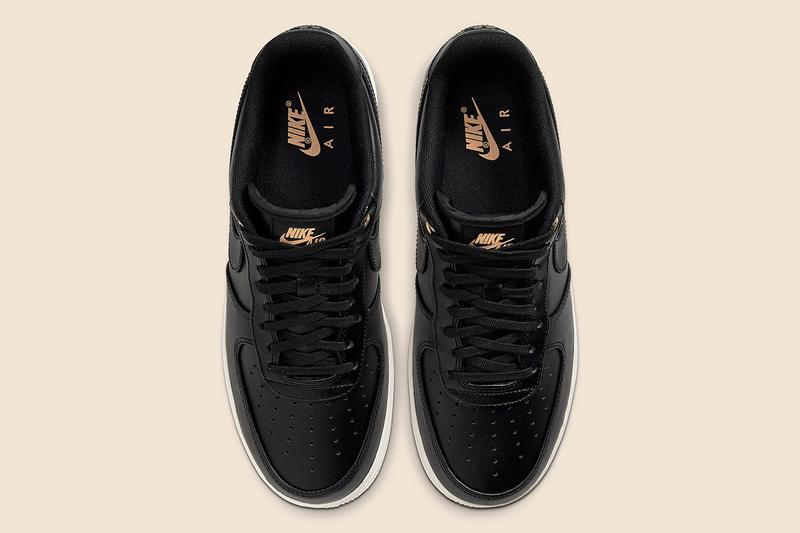 Nike Air Force 1 最新「Black Pack」系列配色發佈