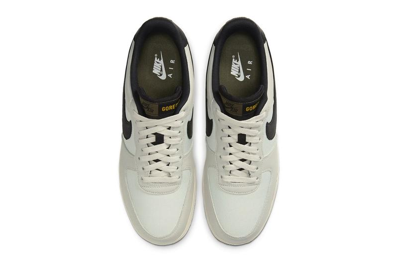Nike Air Force 1 GORE-TEX 全新配色「Light Bone/Medium Olive」正式發佈