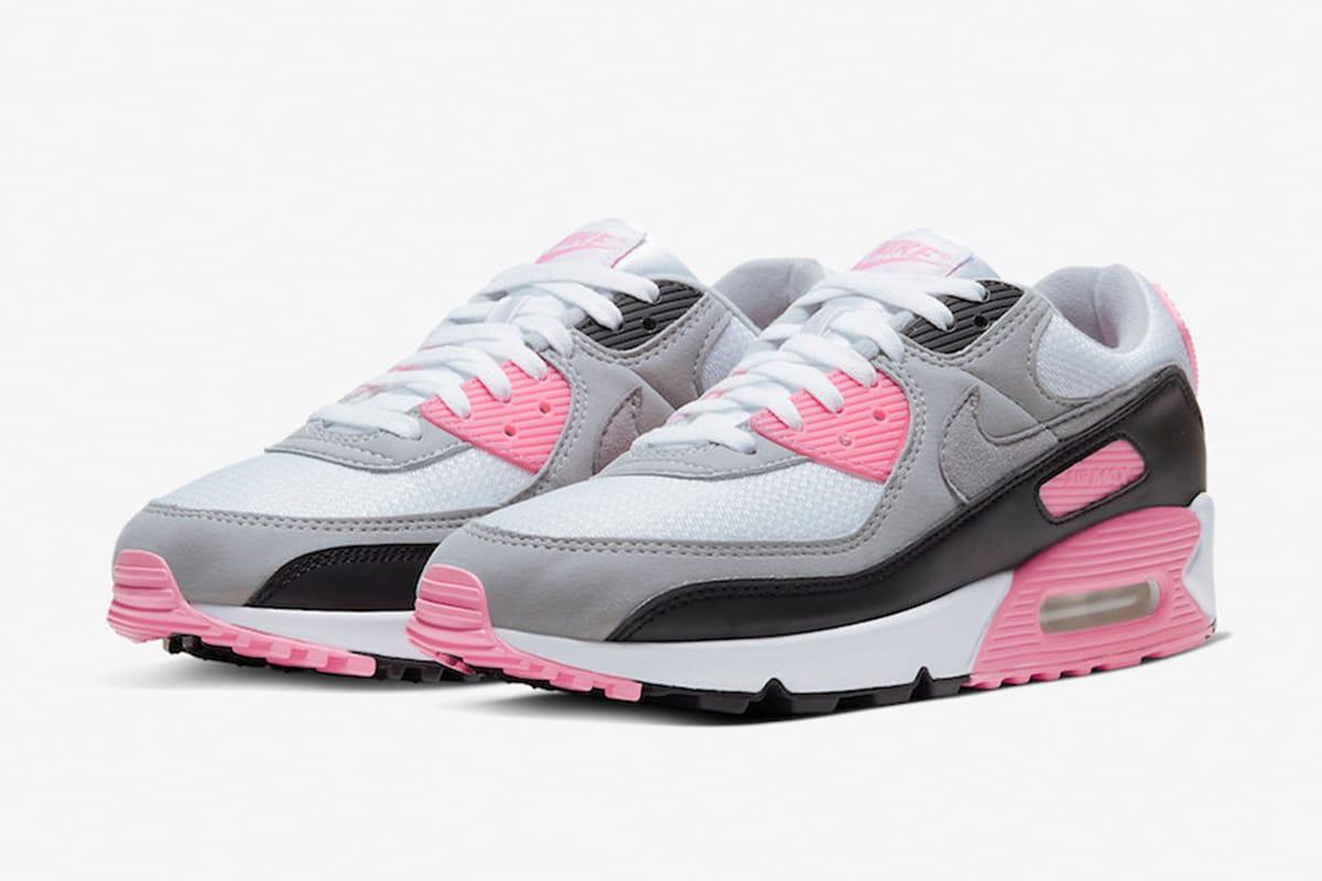 少女粉紅-Nike Air Max 90 推出「Rose
