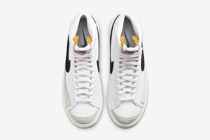 Nike Blazer Mid '77 Vintage 經典黑白配色將再次登場