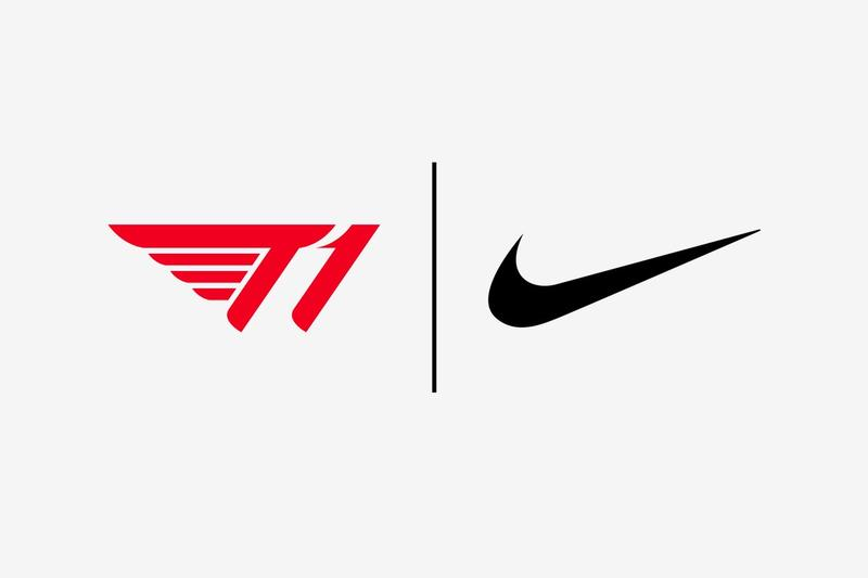 Nike 宣佈和 T1 Entertainment & Sports 達成獨家合作關係