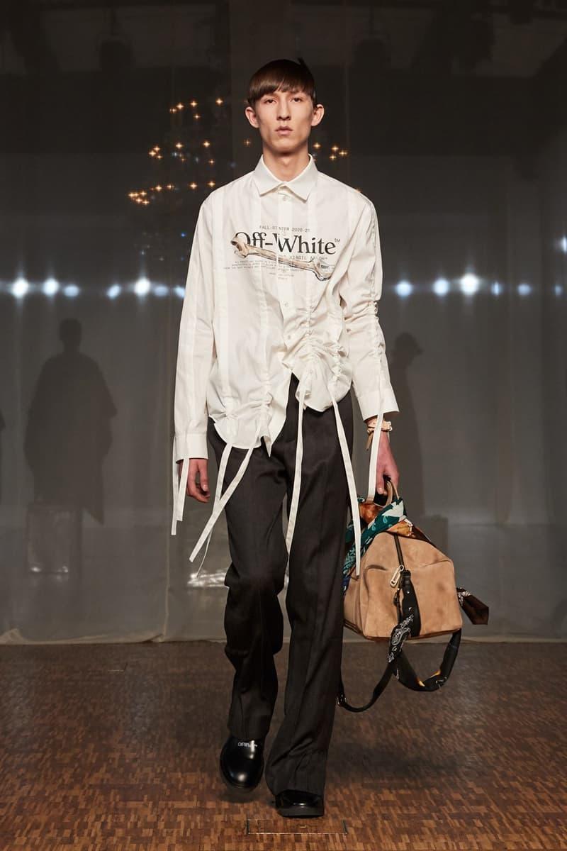 巴黎時裝周 − Off-White™ 2020 秋冬系列時裝大秀