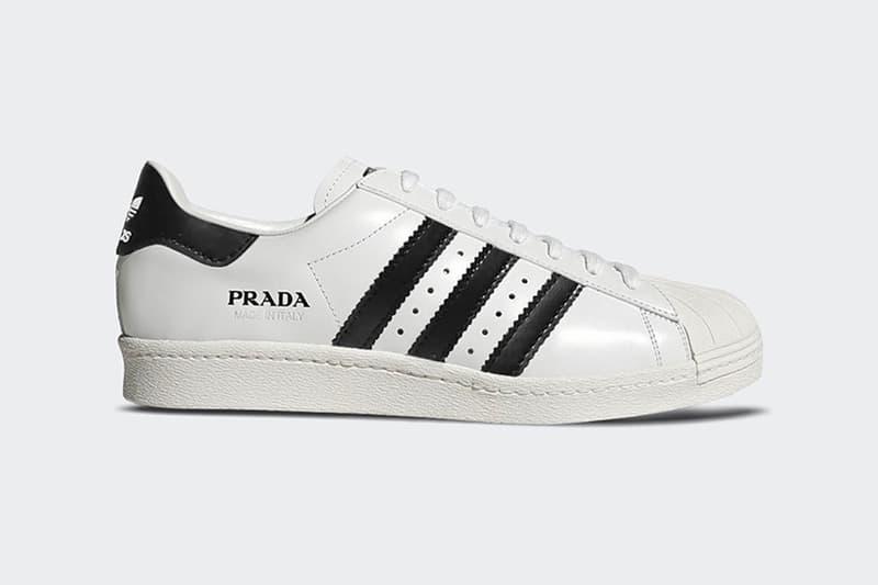 PRADA for adidas 全新配色聯乘 Superstar 或將於三月份發售