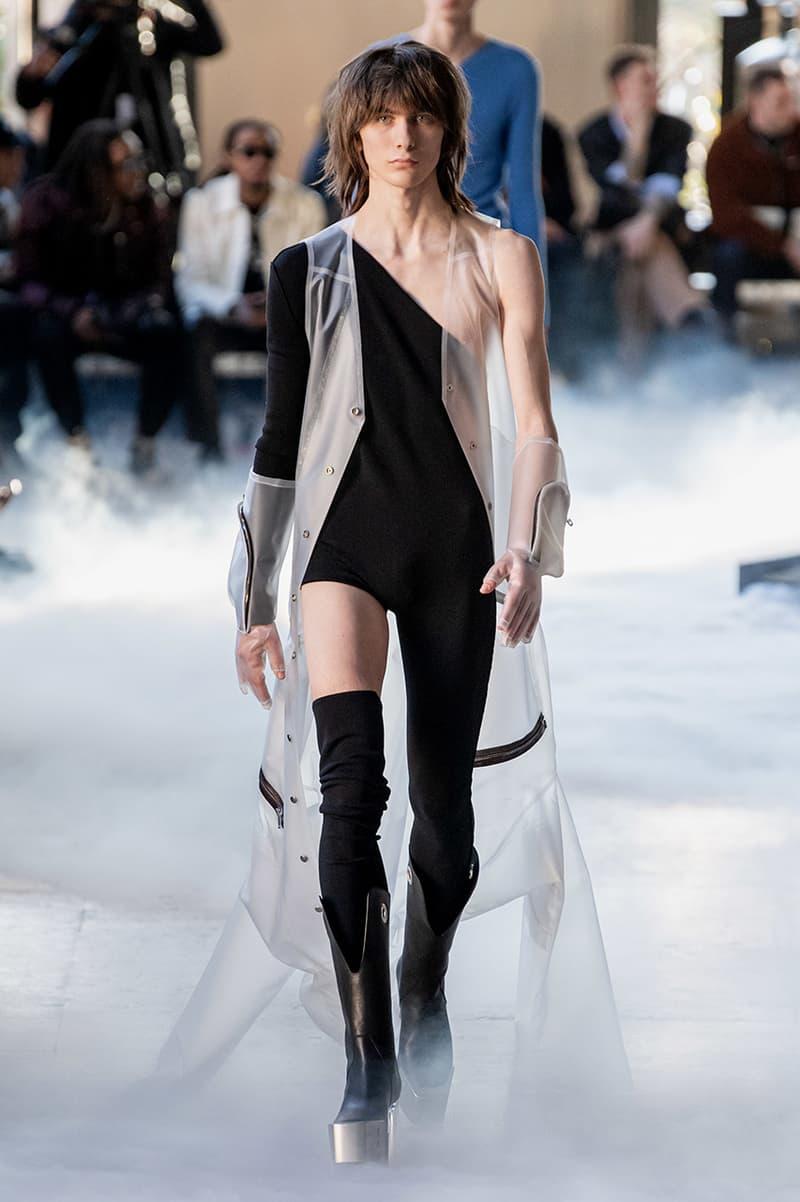 巴黎時裝週 - Rick Owens 2020 秋冬系列時裝大秀
