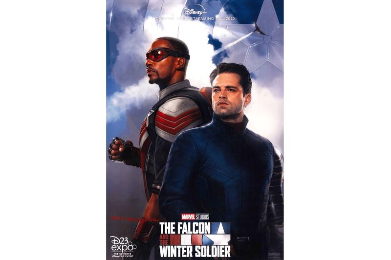 Marvel 全新英雄影集《The Falcon and The Winter Soldier》官方海報正式曝光