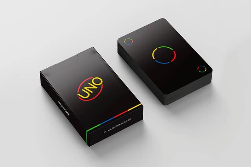 極簡重塑 − 網民打造暗黑風格設計 UNO 卡牌套裝