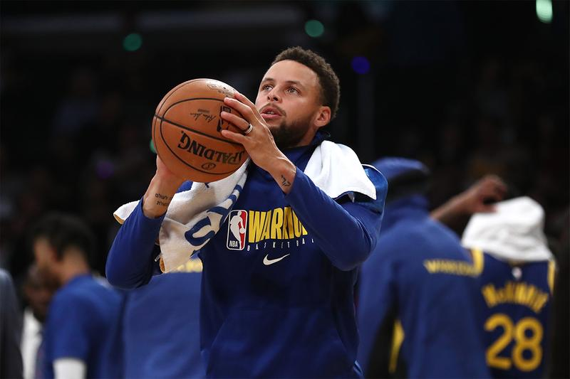 Golden State Warriors 透露 Stephen Curry 復出情報